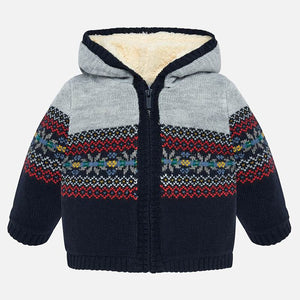 Fleece Lined Hooded Sweater 2332 Universe