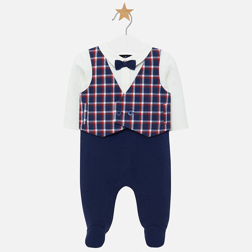 Vest and Bow Tie Romper 2611
