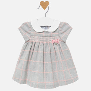 Baby Plaid Dress 2826