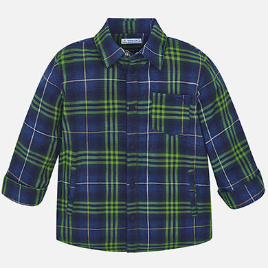 Lined Plaid 4117 Green