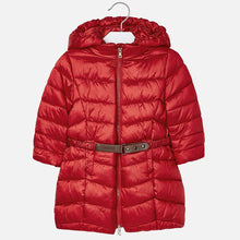 Belted Puff Coat 4420 Red