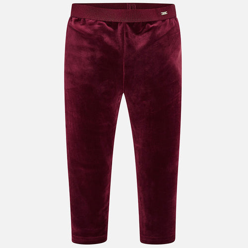 Velvet Legging 4702 Ruby