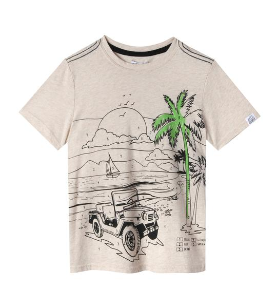 ISAAC  Color by Number T-SHIRT