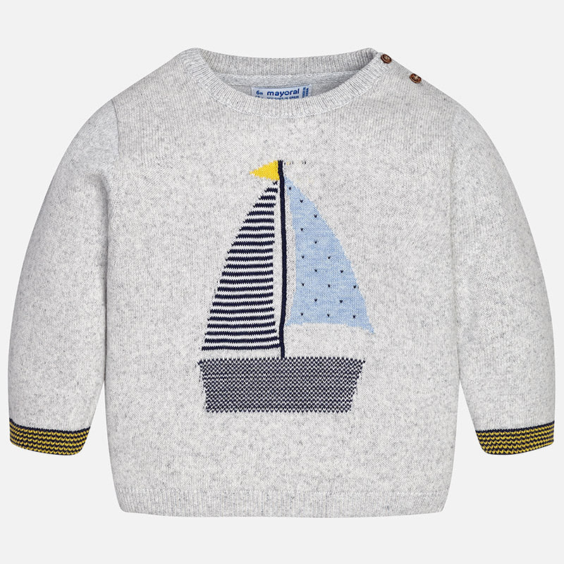 Sailboat Sweater 1324