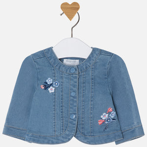 Jean jacket for baby girl 1410-90