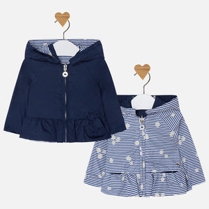 Reversible Baby windbreaker 1418