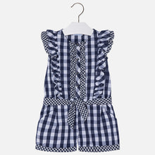 Gingham playsuit 3800