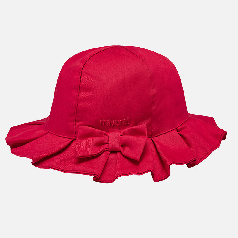 Twill Hat Red 10353