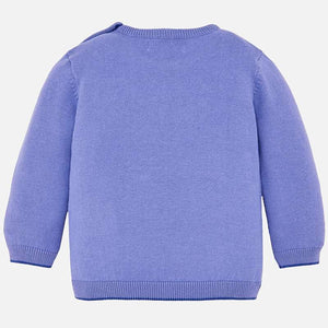 Baby Basic Sweater  303 Lavender