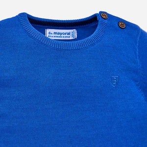 Baby Basic Sweater 303 Blue