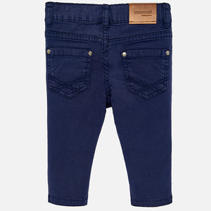 Basic Baby Pants 506 Navy