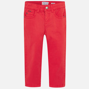 Basic Pants 509 Red