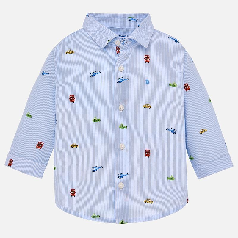 Vehicle Pattern Shirt 1131