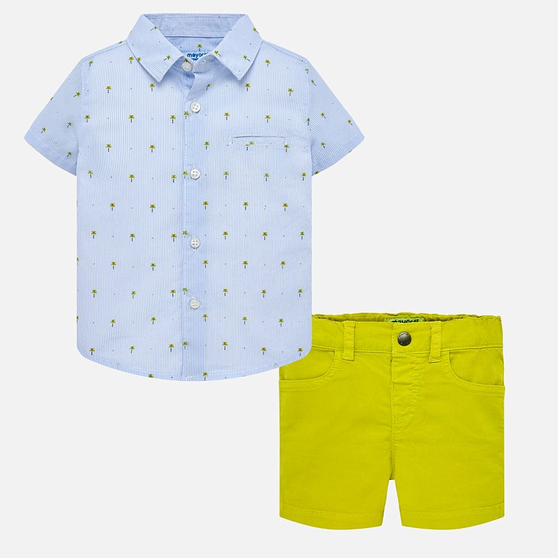 Tropical Shirt & Shorts 1253