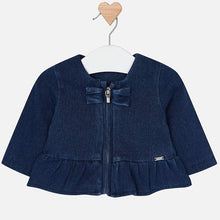 Ruffled Denim Jacket 1402