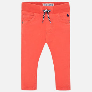Pants with Drawstrings 1521 Crab Red