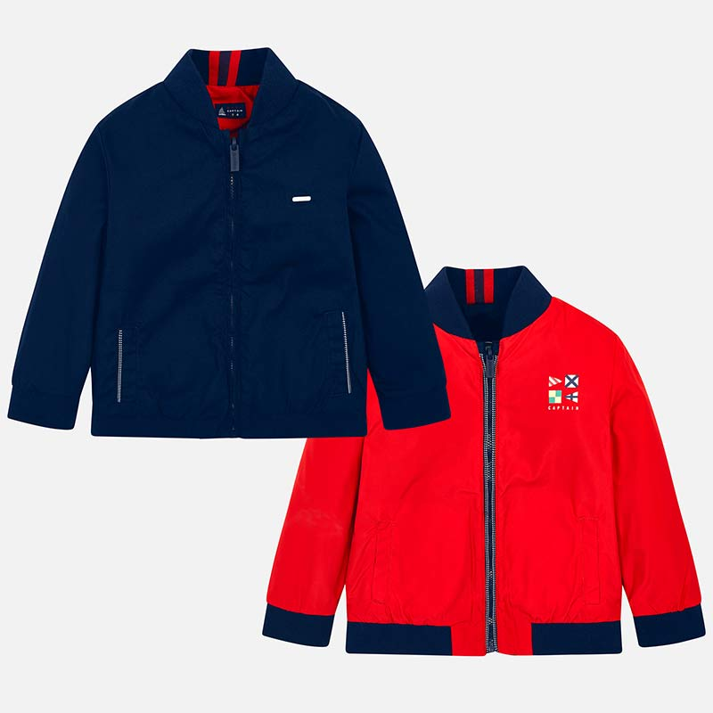 Reversible Windbreaker Jacket 3431