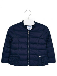 Ruffled Jacket 3416 Navy