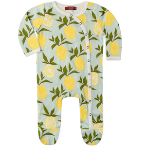 Organic Footed Romper
