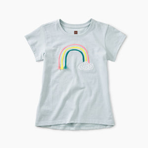 3D Rainbow Graphic Tee