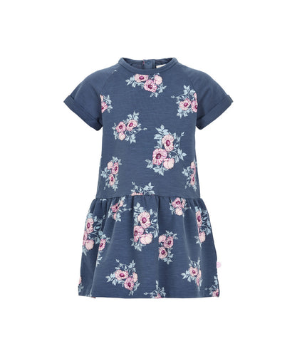 Floral Sweatshirt Dress 121044