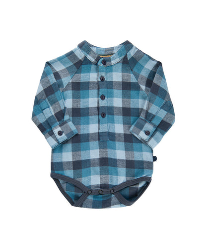 Flannel Bodysuit 111087
