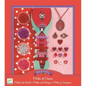Beads and Hearts Jewelry Making Set