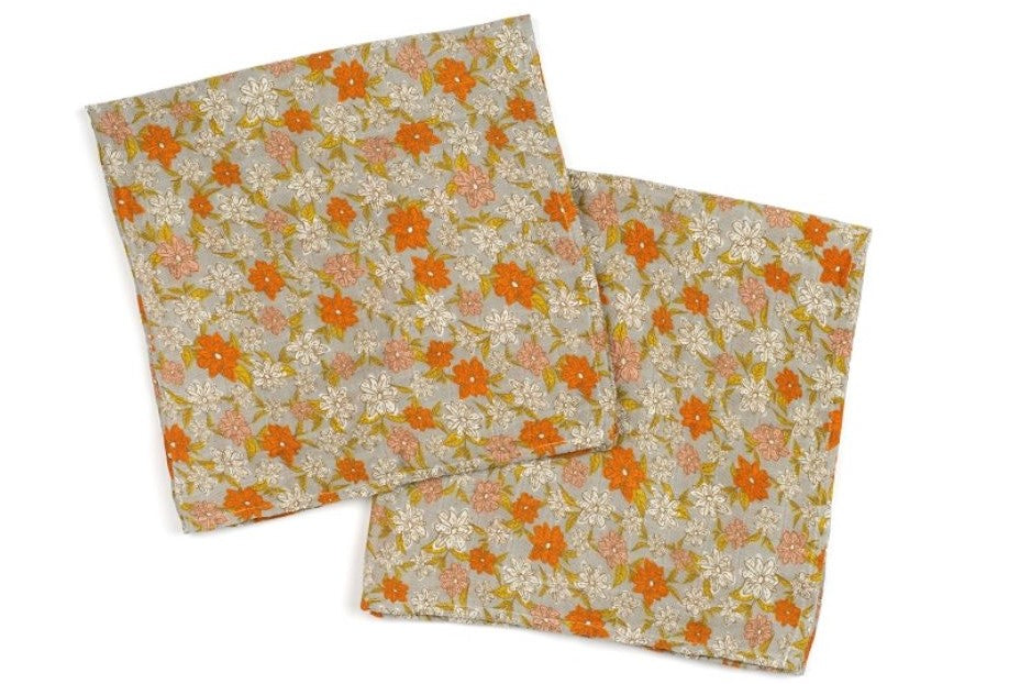 Bamboo Burpies - Grey Floral