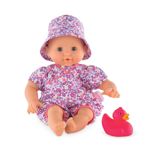 Mon Premier Bébé Bath Floral Bloom Baby Doll