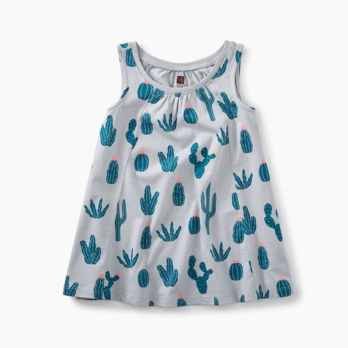 Baby Trapeze Dress - Prickly Cactus