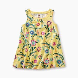 Baby Trapeze Dress - Southwest Garden