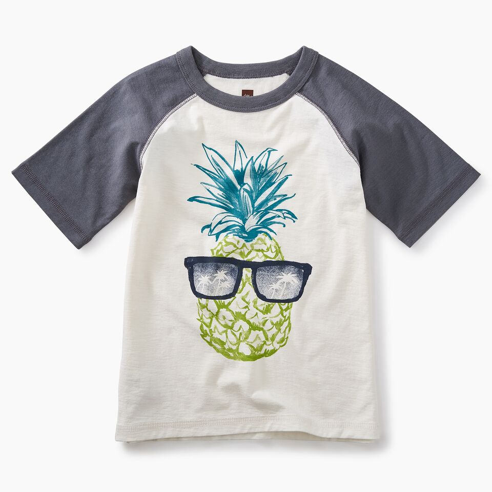 Sunshine Pineapple Rag Graphic Tee
