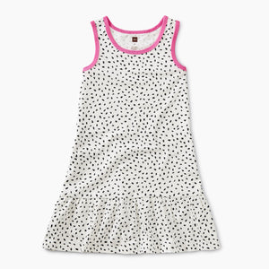 Dragonfruit Printed Tank Dress