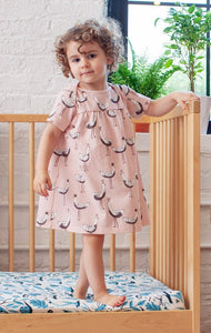 Lucca Dress - Magical Forest Pink