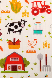 ON THE FARM - TULA BABY BLANKET SET