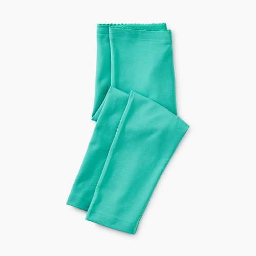 Solid Baby Leggings - Light Laguna