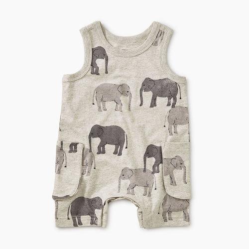 Tons of Trunks Tank Romper