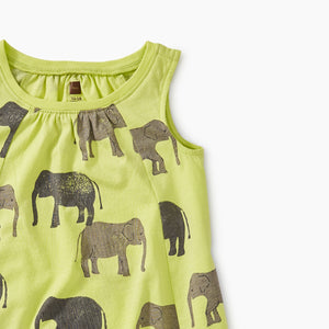 Tons of Trunks Trapeze Dress