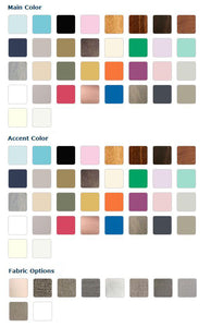Astoria Crib - Newport Cottages - Color Options