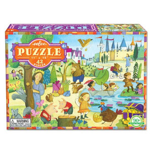 Mystery in the Forest 42 Piece Puzzle