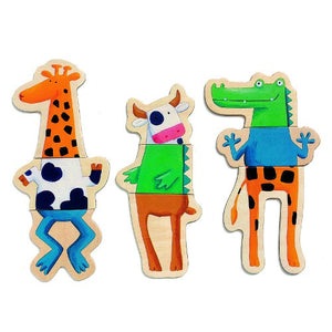 Magnetic Crazy Animals
