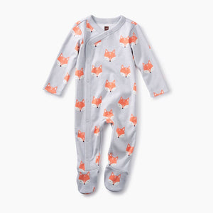 Foxes Footed Romper