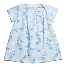 Lucca Dress - Mermaids Blue