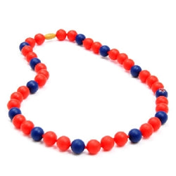 MLB GAMEDAY TEETHING NECKLACE - BOSTON RED SOX