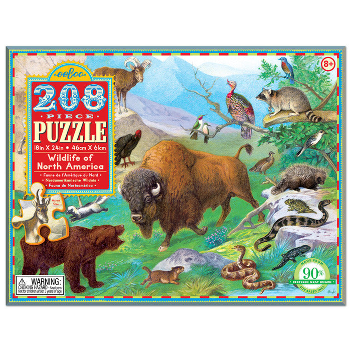 Wildlife Of North America Puzzle