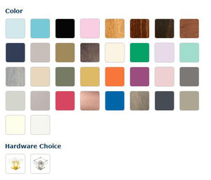 Uptown Dresser - Newport Cottages - Color Options