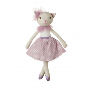 White Cat doll