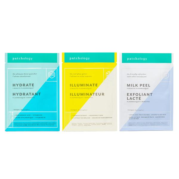 The Perfect Weekend FlashMasque 5 Minute Sheet Masks