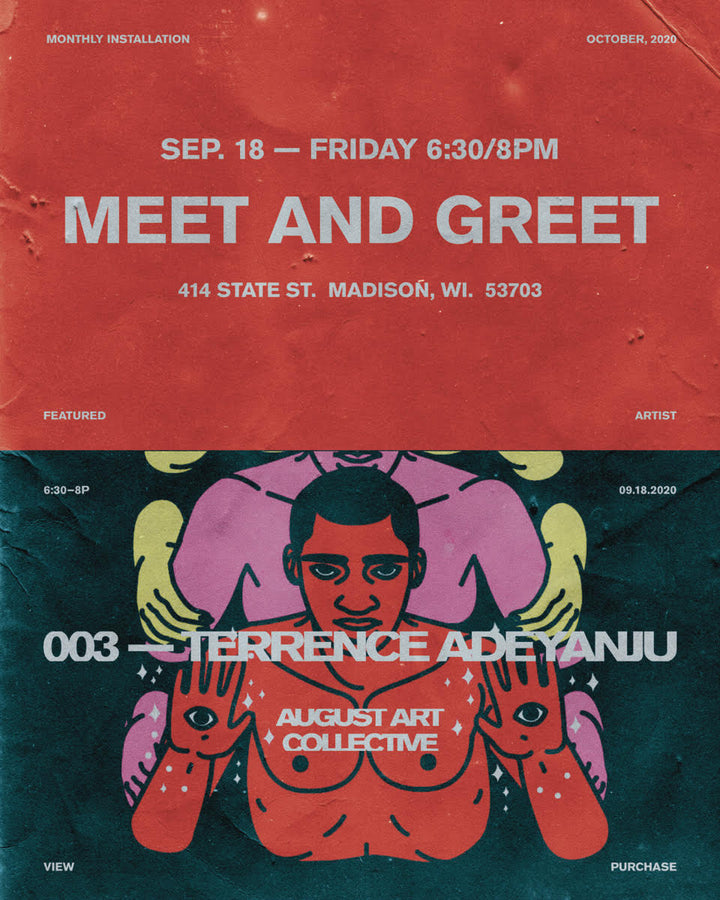 AUGUST ART COLLECTIVE :: 003 Feat. Terrence Adeyanju