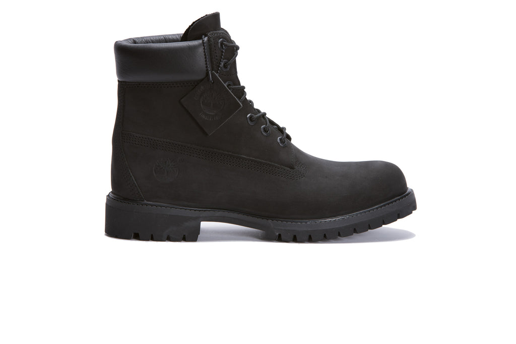 "Timberland 6"" Premium Waterproof Boot (Black Nubuck) - August Shop"